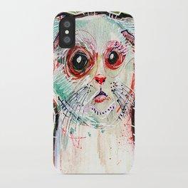 Infected Sugar Cat iPhone Case