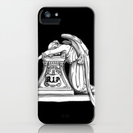 The Angel of Grief  iPhone Case