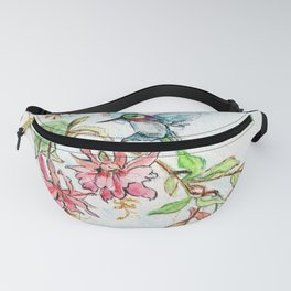 Honeysuckle Hummingbird Fanny Pack