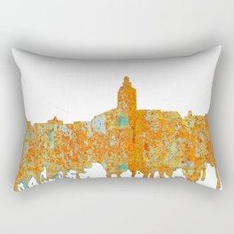 Annapolis, Maryland Skyline SG - Rust Rectangular Pillow
