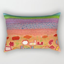 Remains on the Landscape Rectangular Pillow