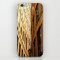 library iPhone & iPod Skins featuring Library  by Ethna Gillespie