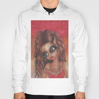 sassy Hoodies featuring Sassy Catalina by LianneAdelleArt