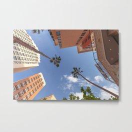 Vacation Resort Metal Print