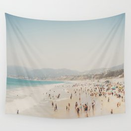summer time in Santa Monica ... Wall Tapestry