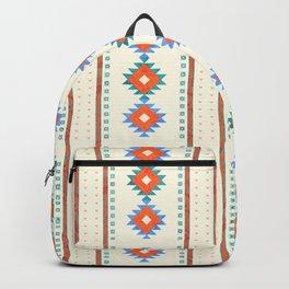 geometry navajo pattern no3 Backpack