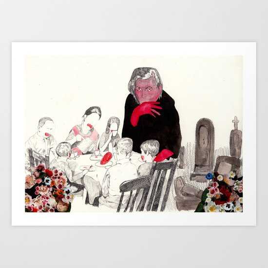 Picnic at Walpurgisnacht Art Print