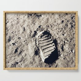 One Giant Leap For Mankind Serving Tray