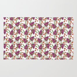 Sultry Summer - Orchids Rug