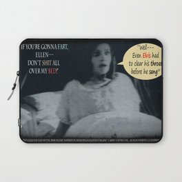 """'Ellen Hutter', FROM THE FILM """" Nosferatu vs. Father Pipecock & Sister Funk (2014)"""" Laptop Sleeve"""