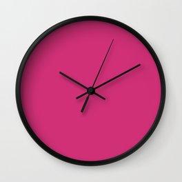 Spring 2017 Designer Colors Pink Yarrow Wall Clock