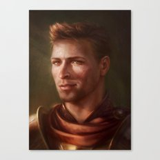 King Alistair Canvas Print
