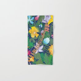 Bridge of Tropical Flowers Hand & Bath Towel