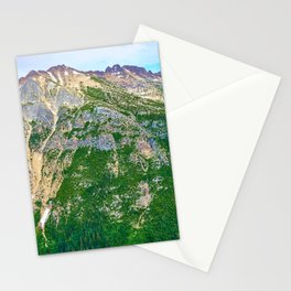 North Cascades northern view Stationery Cards