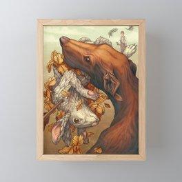 Lepus Framed Mini Art Print