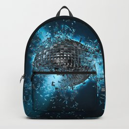 Disco planet explosion Backpack