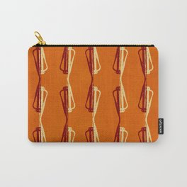 Shadowplay (Orange) Carry-All Pouch