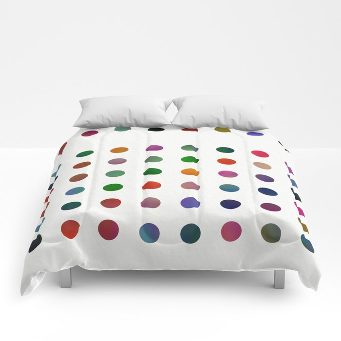Missing Dots Comforters