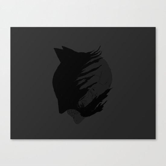 The Fallen Knight Canvas Print