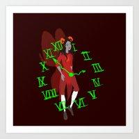 homestuck Art Prints featuring Maid of Time  by Paula Urruti