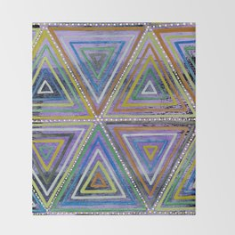 Triangling Throw Blanket