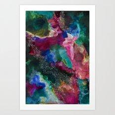 ORBIT Galaxy print. Art Print