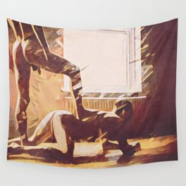 Perro Malo Wall Tapestry