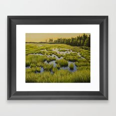 Maine Marsh 2 Framed Art Print