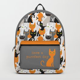 various cats collection Backpack