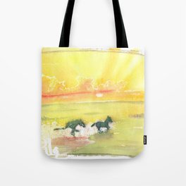 splash of sun Tote Bag