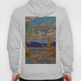 Tom Thomson The Lake, Bright Day 1916 Canadian Landscape Artist Hoody