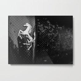 Wet Stallion Metal Print
