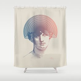 Stay Safe Shower Curtain