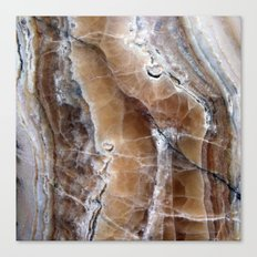 Marble Paint Formation Canvas Print