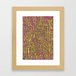 Revelaciones Framed Art Print