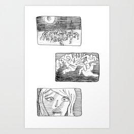 Last Scream Art Print
