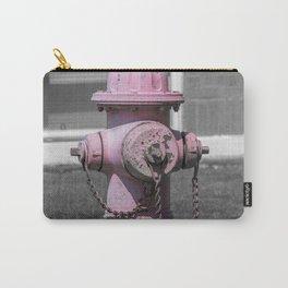 Faded Pink Mueller Super Centurion Fire Hydrant Sun Bleached Fireplug Carry-All Pouch