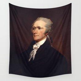 Alexander Hamilton by John Trumbull Wall Tapestry