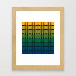 Verdant Capsule Framed Art Print