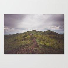 Hiking tales Canvas Print