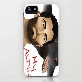 Derek Hale - Oh Alpha, my Alpha iPhone Case