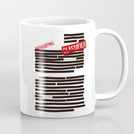 Censored text (Classified information) Coffee Mug