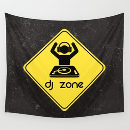 DJ Zone Rave Quote Wall Tapestry