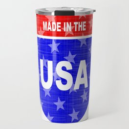 Interstate Made In The USA Sign Travel Mug
