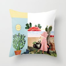 This is about us Throw Pillow