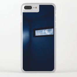 Confinement Clear iPhone Case