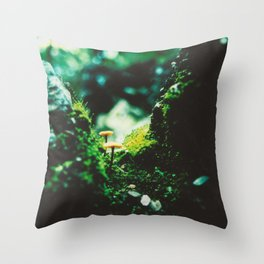 Forest Steps Throw Pillow
