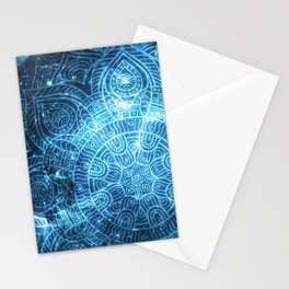 Space mandala 8 Stationery Cards
