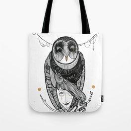 bird women Tote Bag