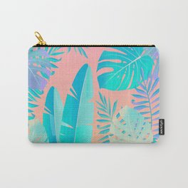 Tropics ( monstera and banana leaf pattern ) Carry-All Pouch